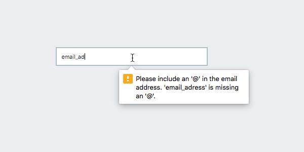 Пример работы атрибута type