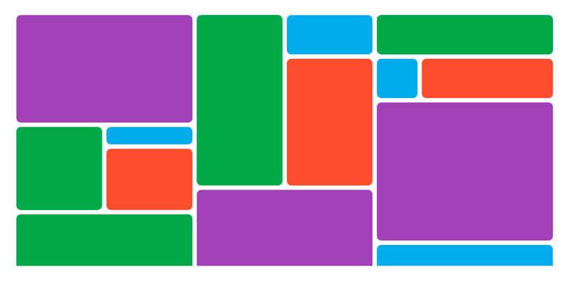 Аналог Bootstrap сетки на Grid. Сетка для адаптивной верстки
